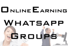 online-earning-whatsapp-group-link