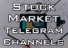 best stock market telegram channel