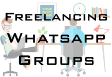 freelancing whatsapp groups