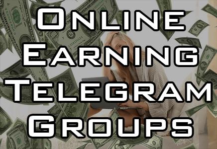 online earning telegram group