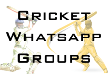 Cricket Whatsapp Group Link 2021