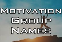 motivational group names