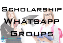 scholarship whatsapp group links