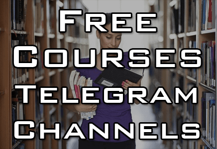 Telegram Channel for Free Courses