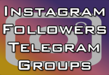 telegram group for instagram followers