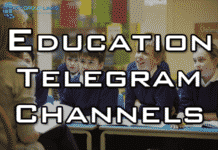 best telegram channels for education