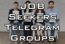 telegram group for job seekers