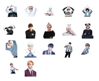 BTS-telegram-stickers