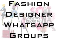 Fashion-Designer-Whatsapp-Group-links
