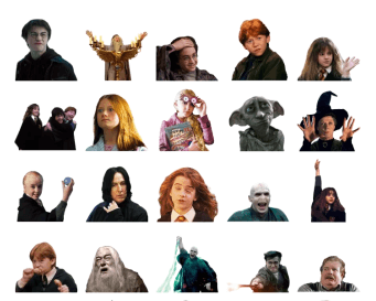 Harry-Potter-telegram-stickers