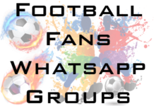 football fans whatsapp group link