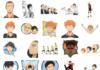 haikyuu telegram stickers