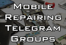 mobile repairing telegram group