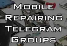 mobile repairing telegram group