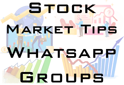 stock market tips whatsapp group link