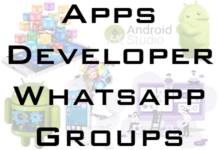 android app developer whatsapp group link