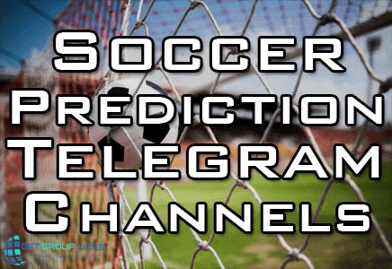 best soccer prediction telegram channels