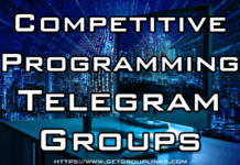 competitive programming telegram group