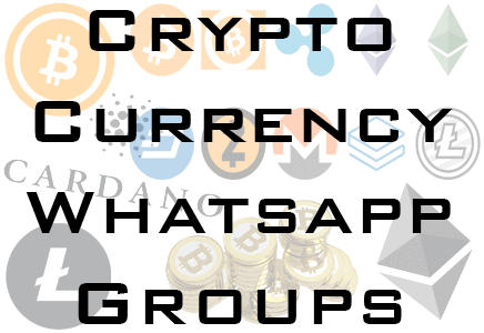 cryptocurrency whatsapp groups