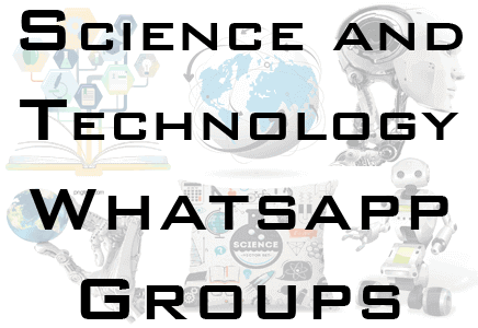 science and technology whatsapp group link
