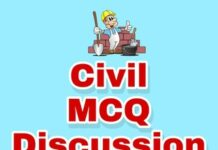 MCQ's Civil Engg Discussion