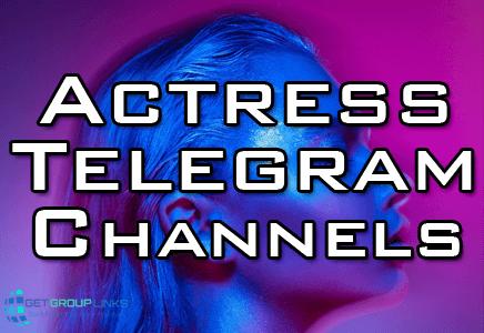 actress telegram channel