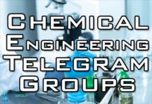 chemical engineering telegram group