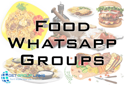 food whatsapp group link