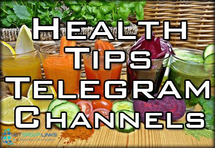health tips telegram channel