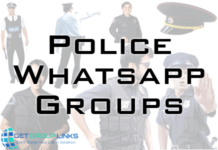 police whatsapp group link