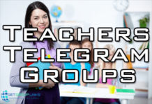 teachers telegram group