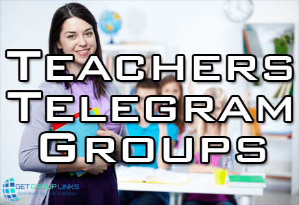 teachers telegram group