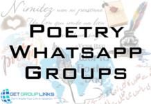 whatsapp poetry group link