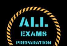 ALL EXAMS PREPARATION