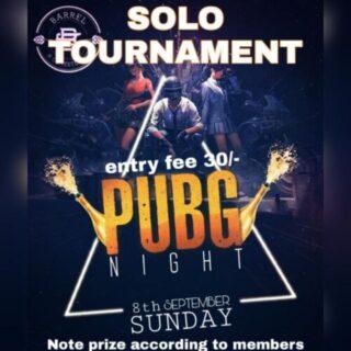 PUBG SUNDAY TOURNAMENT