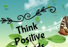 Think Positive Words