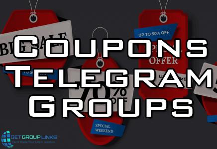 coupon code telegram group
