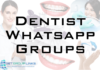 dentist whatsapp group link
