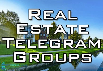 real estate telegram group link