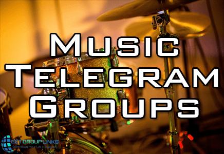 telegram music group link