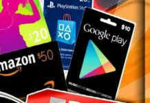 GOOGLE PLAY GIFT CARDS 2