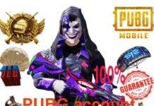 PUBG Account Buyer Seller