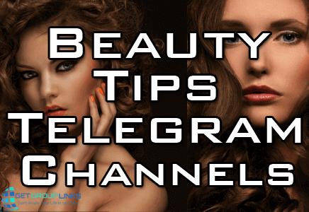 beauty tips telegram channel