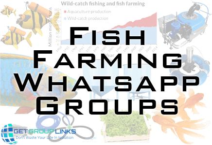 fish farming whatsapp group link
