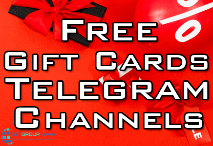 free gift cards telegram channel