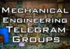 mechanical engineering telegram group