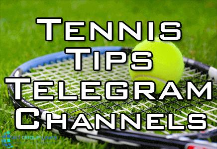 tennis tips telegram channel