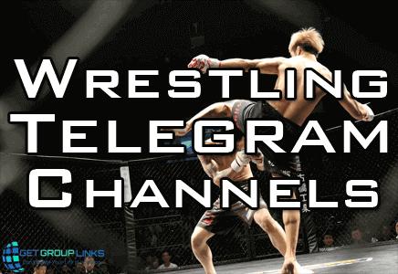 wrestling telegram channel