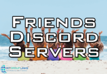 discord servers to find friends
