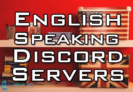 english speaking discord servers